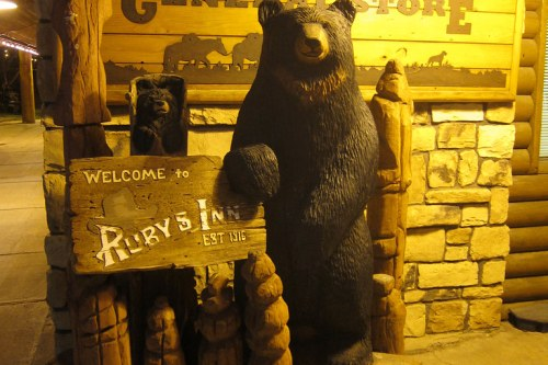 at Ruby's Inn