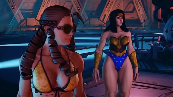 Street Fighter 5 - Wonder Woman