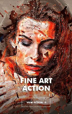 Mix Oil Painting Photoshop Action - 14
