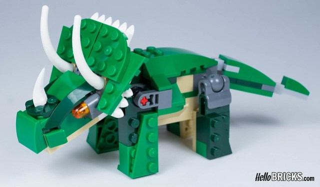 Review LEGO 31058 Creator Mighty Dinosaurs