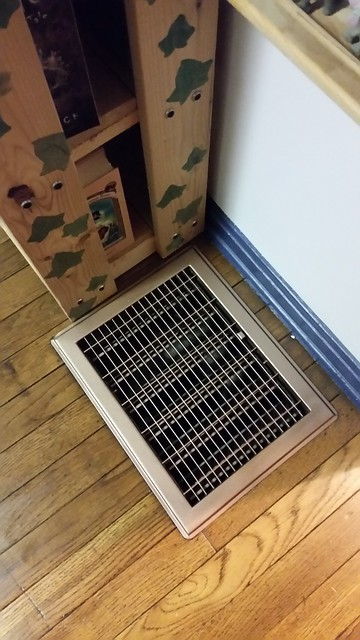 Redoing the Floors: Air Vents