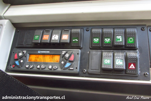 Interior ADL Enviro 500 / Bus Transantiago 2 Pisos