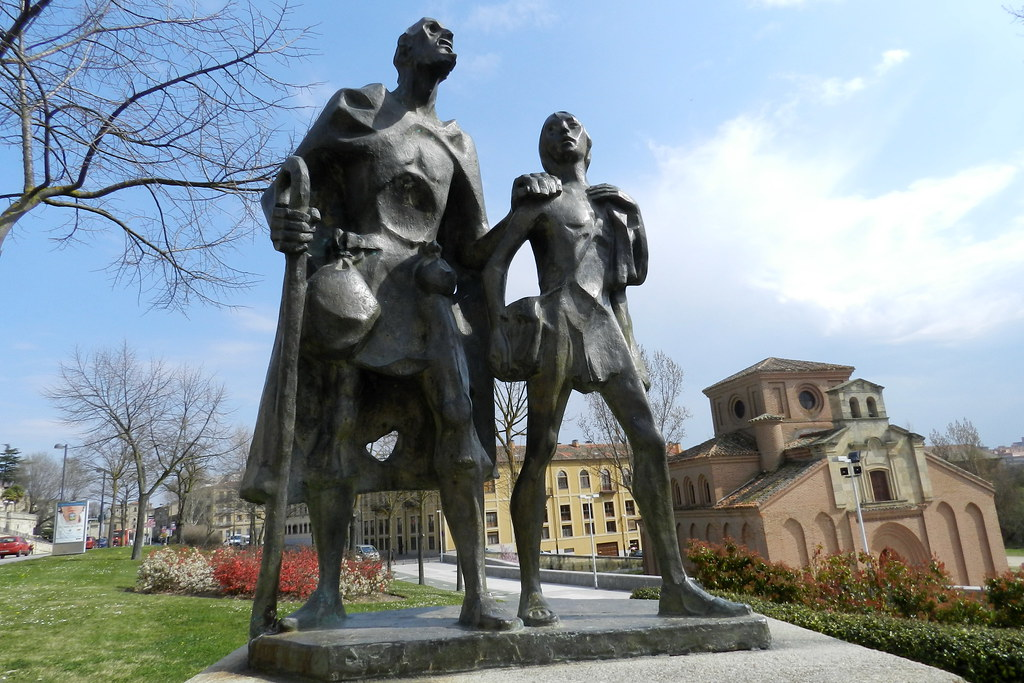 Monumento al lazarillo de Tormes Salamanca 02
