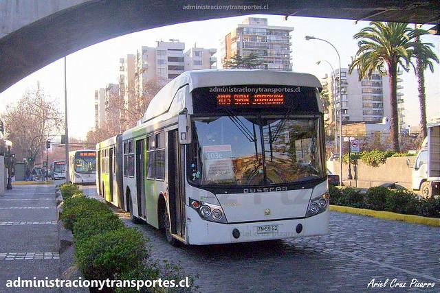 Transantiago 103 | Alsacia | Busscar Urbanuss - Volvo / ZN5963