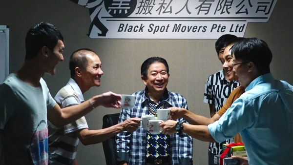 From left: Gadrick Chin, Wang Lei, Henry Thia, Ryan Lian, and Maxi Lim. (Credit: Golden Village Pictures)