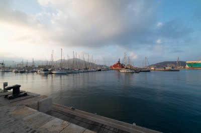 Cartagena Spain harbour