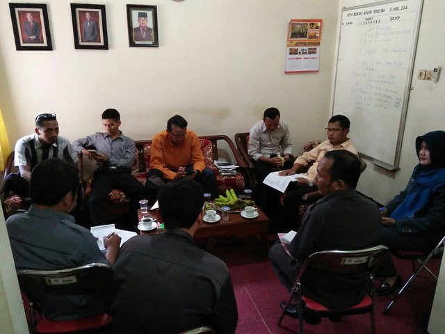 Rapat Pleno KPU Tulungagung (6/2)