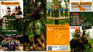 Brochure Thai Jungle Zipline and Trekking Chiang Mai Thailand 05