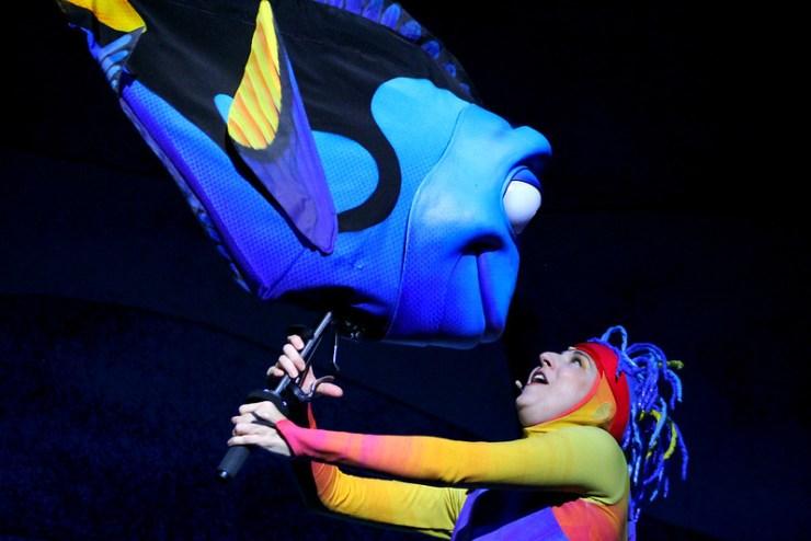 Finding Nemo the Musical Animal Kingdom Oct 2016 8