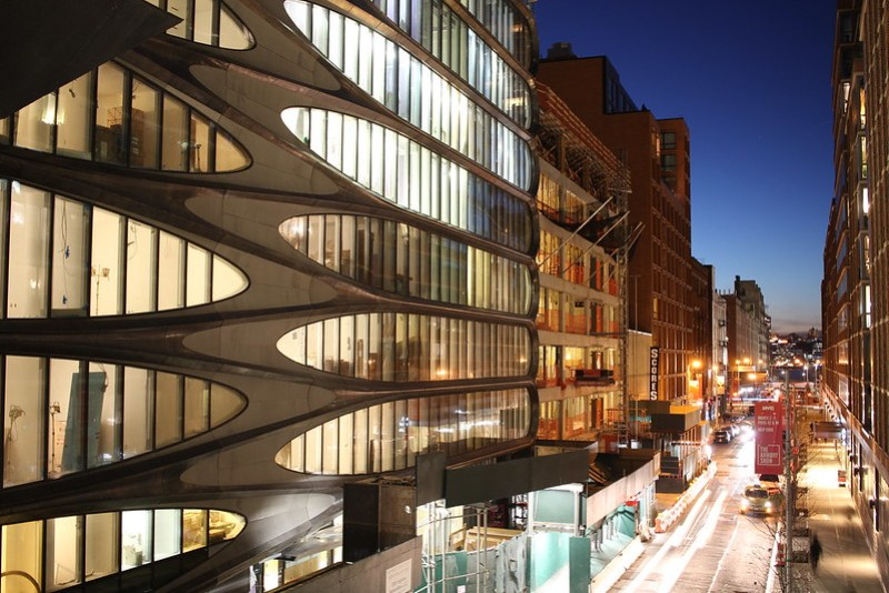 520 W 28th Street by Zaha Hadid