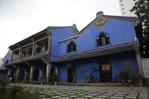 【2015大馬吉隆坡、檳城之旅】檳城「張弼士故居」(BLUE MANSION):一間沒有廚房的大宅(11 ys)