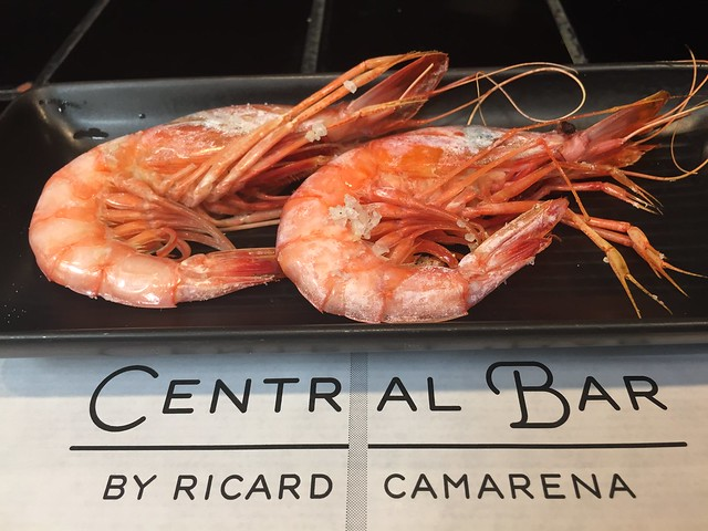 Gamba roja de Denia, en 'Central Bar'