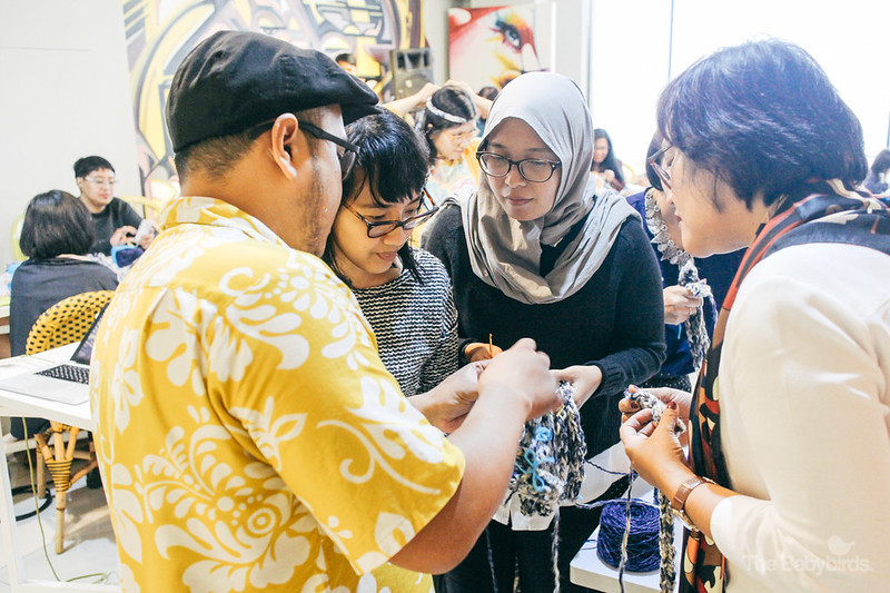Knitting Workshop at Bazart