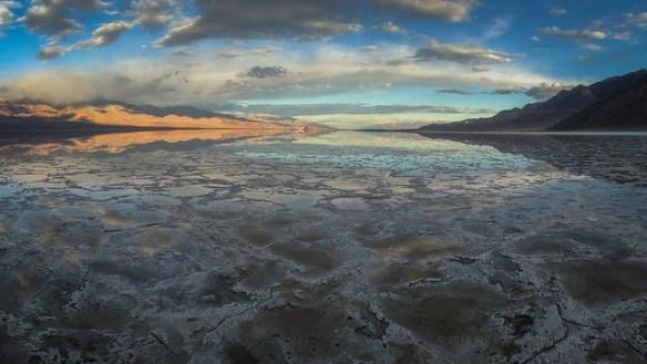 Lake Manly via iPhone 6S+ Panorama