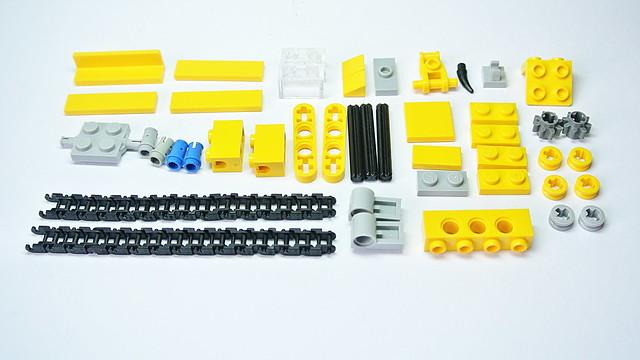 Small LEGO Bulldozer MOC