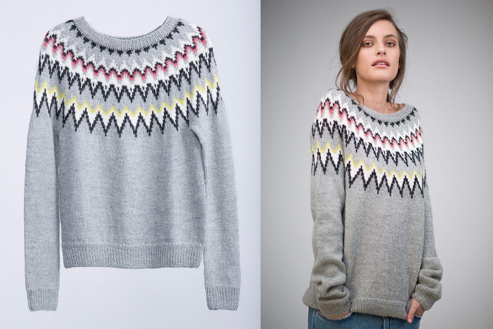 A W Knitwear Trends Geometric