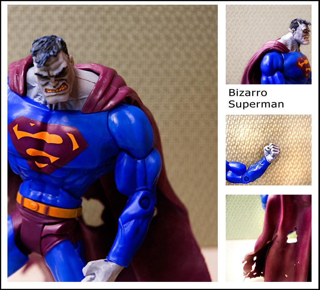 Bizarro Superman A Grotesque Imitation Of Superman