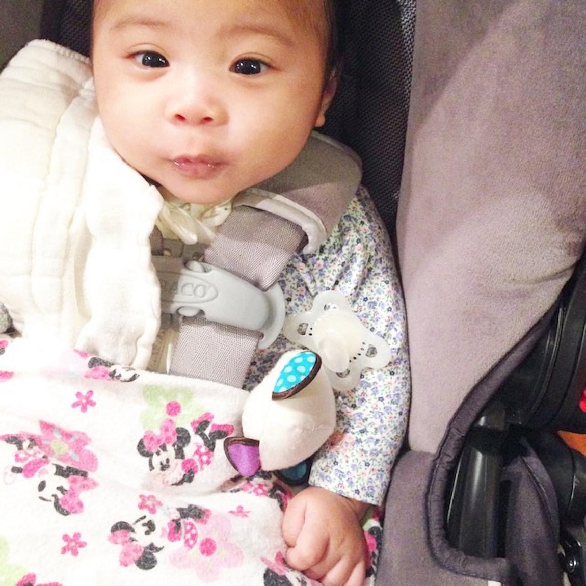 Met up with this cutie patootie 😍 #myniece #goddaughter #lemmetakeasophie