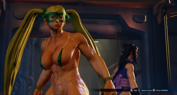Street Fighter 5 - R. Mika Bombshell