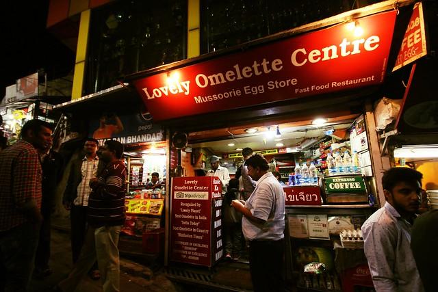 Lovely Omelette Centre, Mall road, Mussoorie