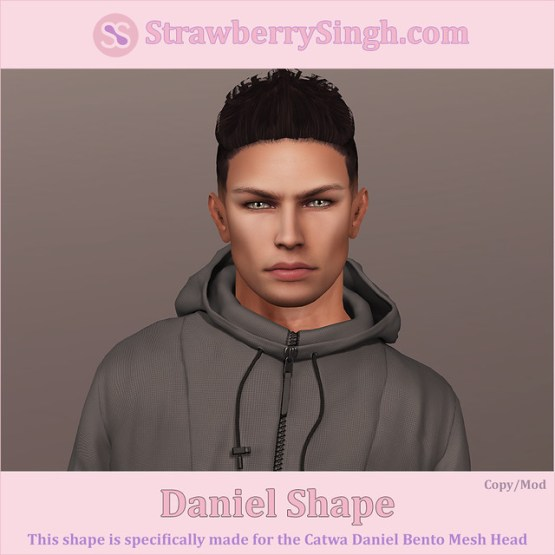 StrawberrySingh.com Daniel Shape
