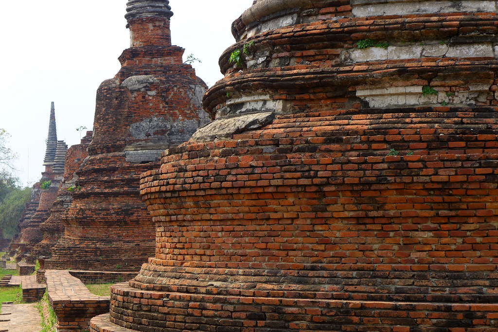 Thaïlande - Ayutthaya - 077 - Wat Phra Si Sanphet