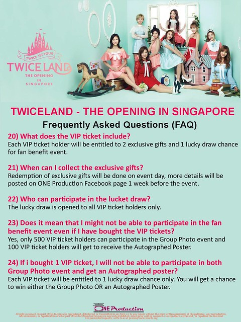 TWICELAND - The Opening – in Singapore FAQ5