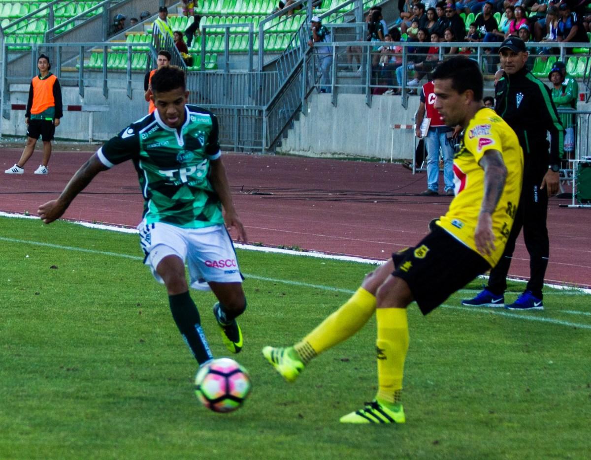Santiago Wanderers 0-3 San Luis de Quillota