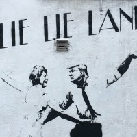 Lie Lie Land Stencil by Bambi