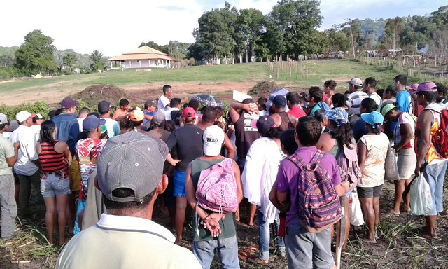 Juiz dá liminar de reintegração de posse de 3 áreas ocupadas em Santarém, moradores ocupação Ipanema