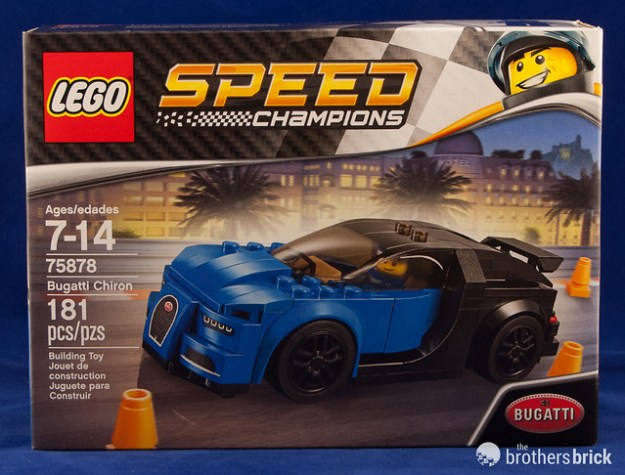 Lego Speed Champions 75878 Bugatti Chiron Review The Brothers