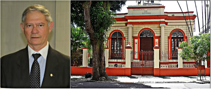 Escritor obidense concorre à cadeira na Academia Paraense de Letras, Célio Simões e a APL
