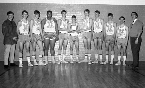 FAWELLS St Johns High Basketball Team circa 1967 02 | Flickr