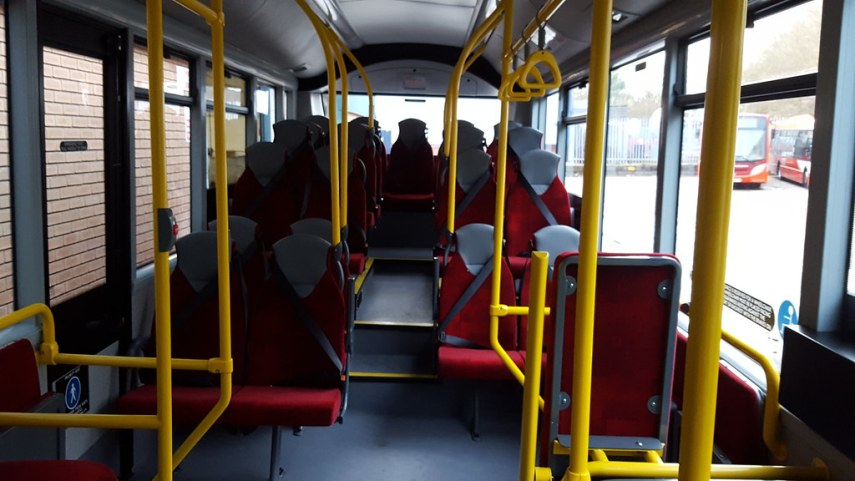 Interior of brand new Grant Palmer Enviro 200 SN66WPJ   Flickr     Interior of brand new Grant Palmer Enviro 200 SN66WPJ   by MCW2598