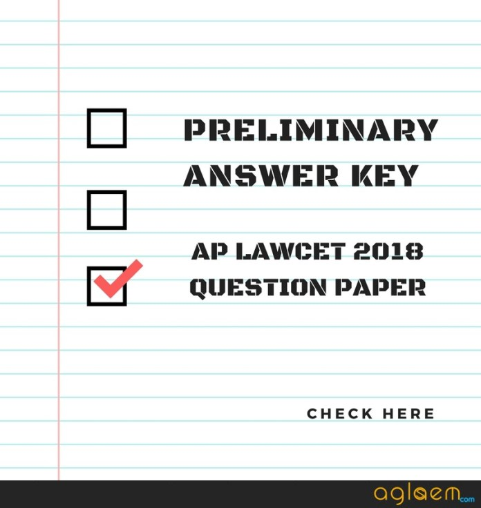 AP LAWCET 2018 Answer Key and Question Paper