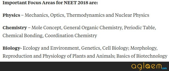 NEET 2018 Preparation