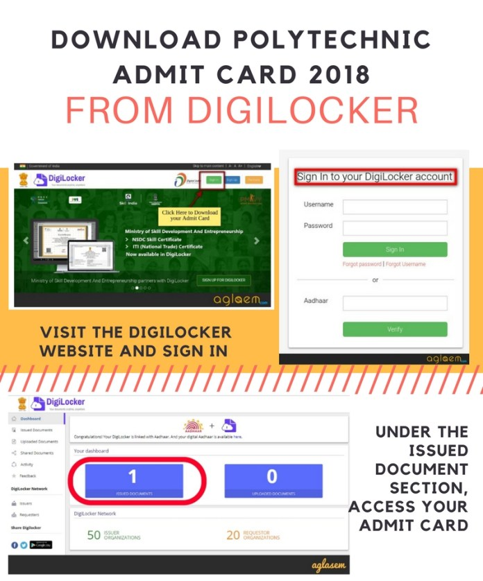 JEECUP 2018 Digilocker