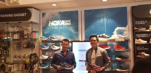 Sunrise Events Founder Fred Uytengsu and Quorum International President Toby Claudio presents the 2018 Hoka Collection
