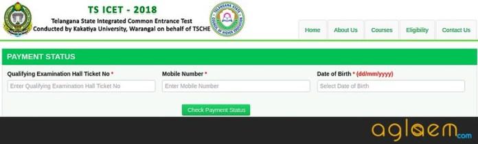TS ICET 2018 Registration