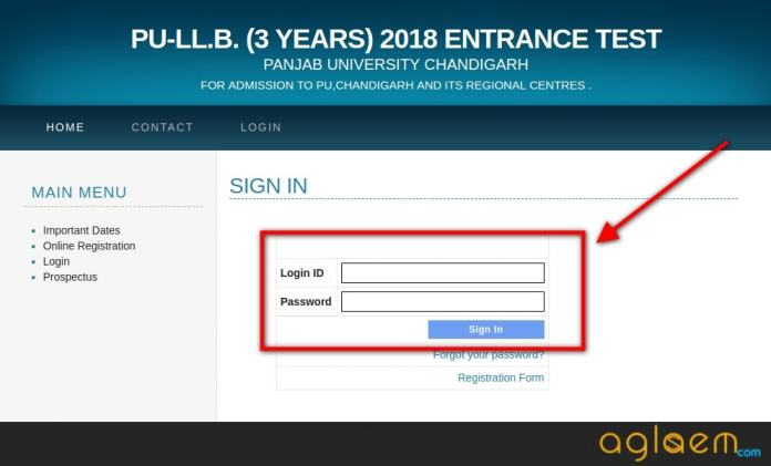PU LLB 2018 Application Form: Apply before 22 May 2018  %Post Title | AglaSem