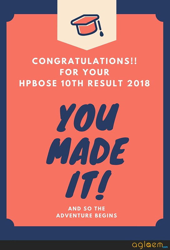 HPBOSE 10th Result 2018 Name Wise