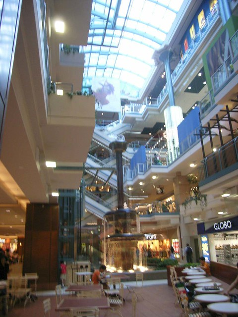 Inside Place Montreal Trust Shopping Centre Another