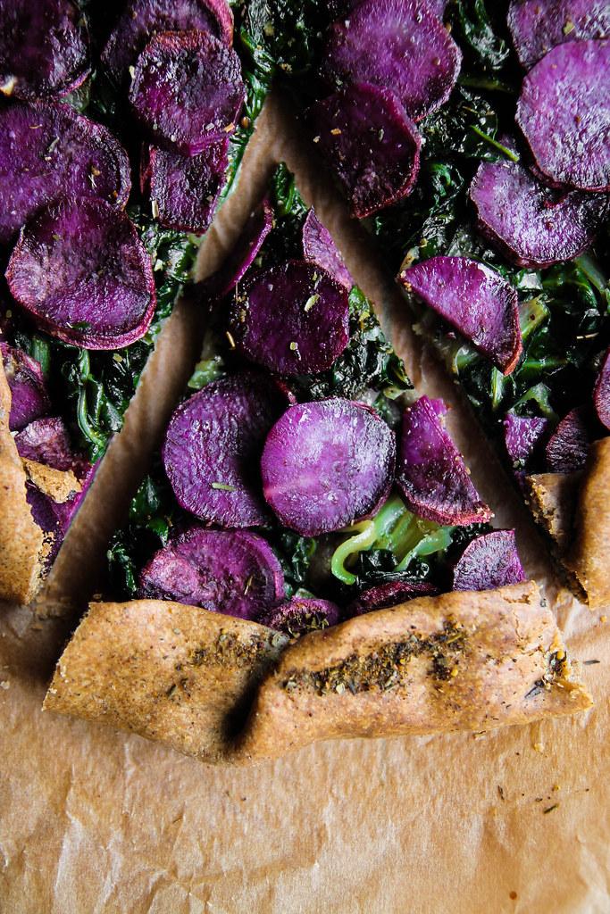 recette de Tarte rustique patate douce