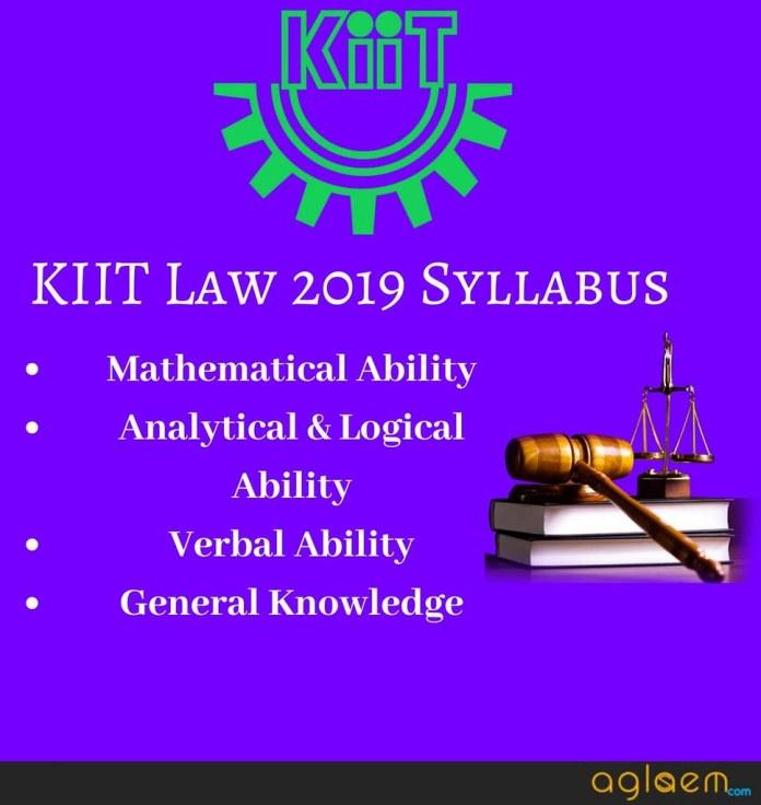 KIIT Law 2019 Syllabus