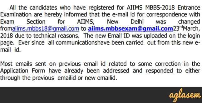 AIIMS 2018 Admit Card (Available)   Download AIIMS Admit Card Here
