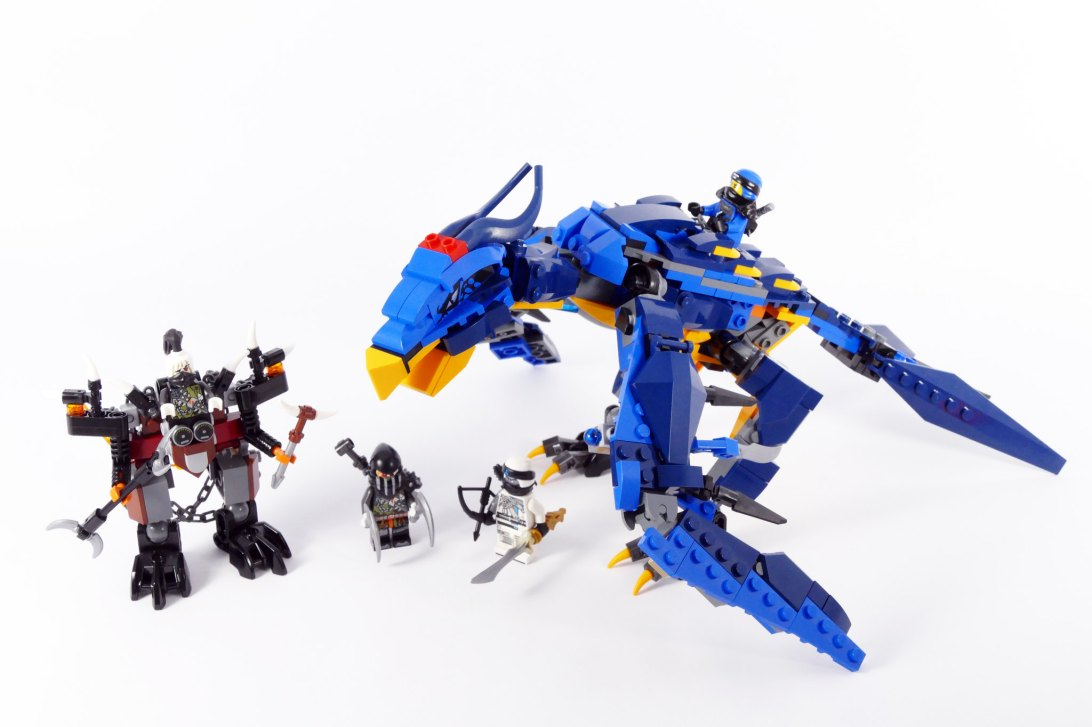 Jay's Thunderbird - LEGO Ninjago Stormbringer 70652 Alternate MOC