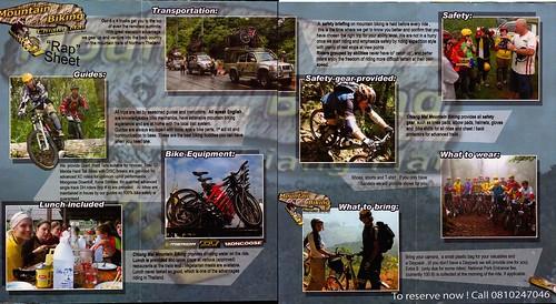 Brochure Chiang Mai Mountain Biking & Kayaks Mountain Bike Tour 2
