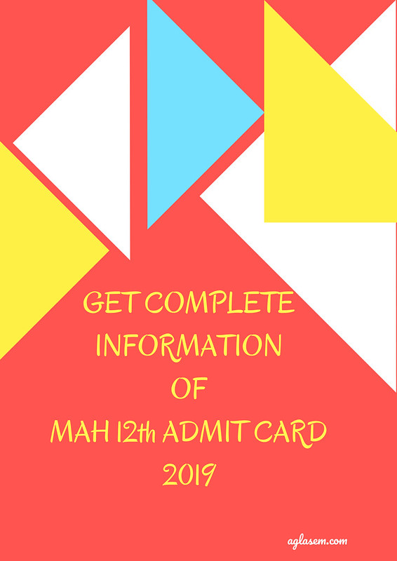 MAH 12th Admit Card 2019