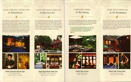 Brochure Oasis Spa Chiang Mai Thailand 2