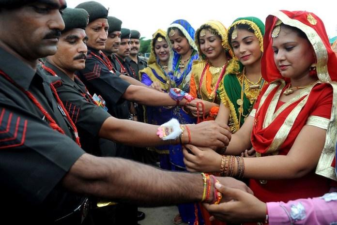 raksha bandhan celebration states india